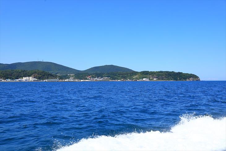 小樽海上観光船 あおばとからの風景