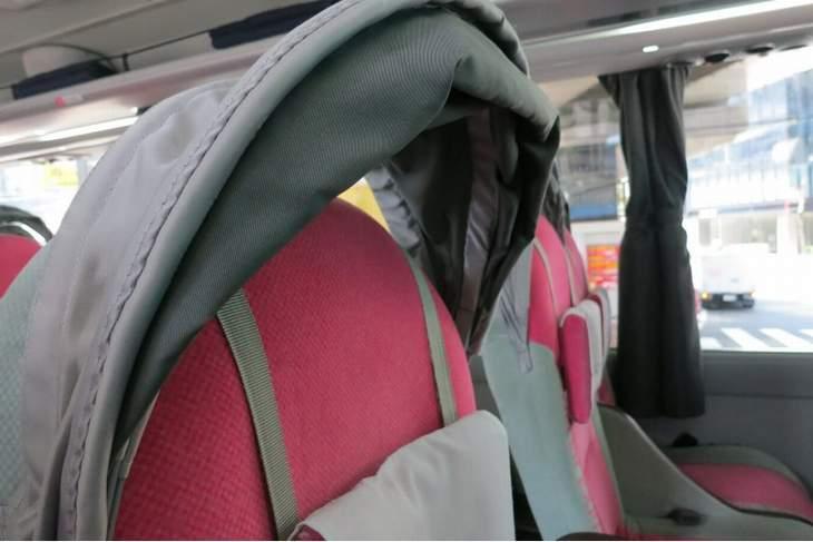 WILLERのバスのシート