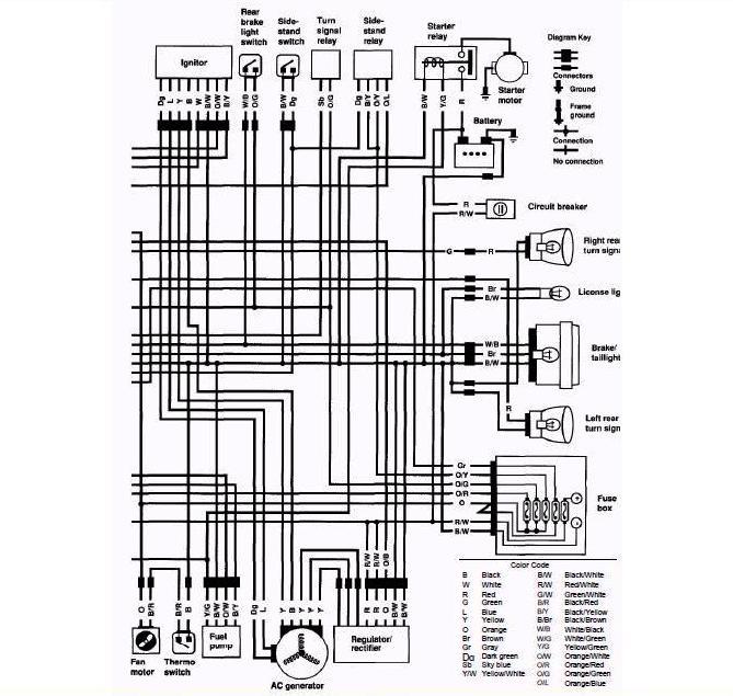 Wiring Diagrams Suzuki Motorcycle: Suzuki vs intruder