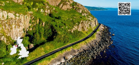 Northern Ireland coastal route