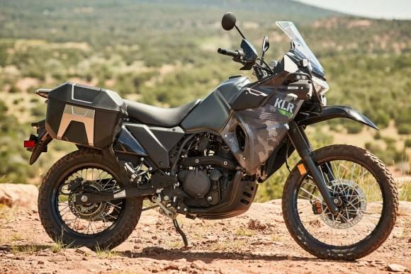 2022 Kawasaki KLR650 Adventure review: dirt bike