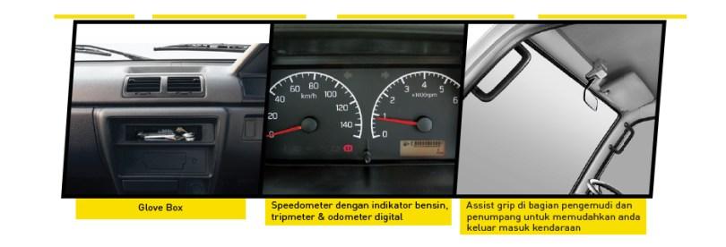 interior eksterior Suzuki Carry Pick Up 1.5