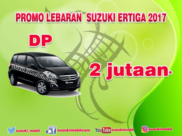Promo Lebaran Suzuki Ertiga 2017