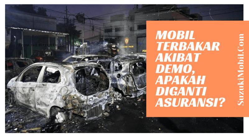 Mobil Terbakar diganti Asuransi