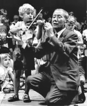 Dr Suzuki and child