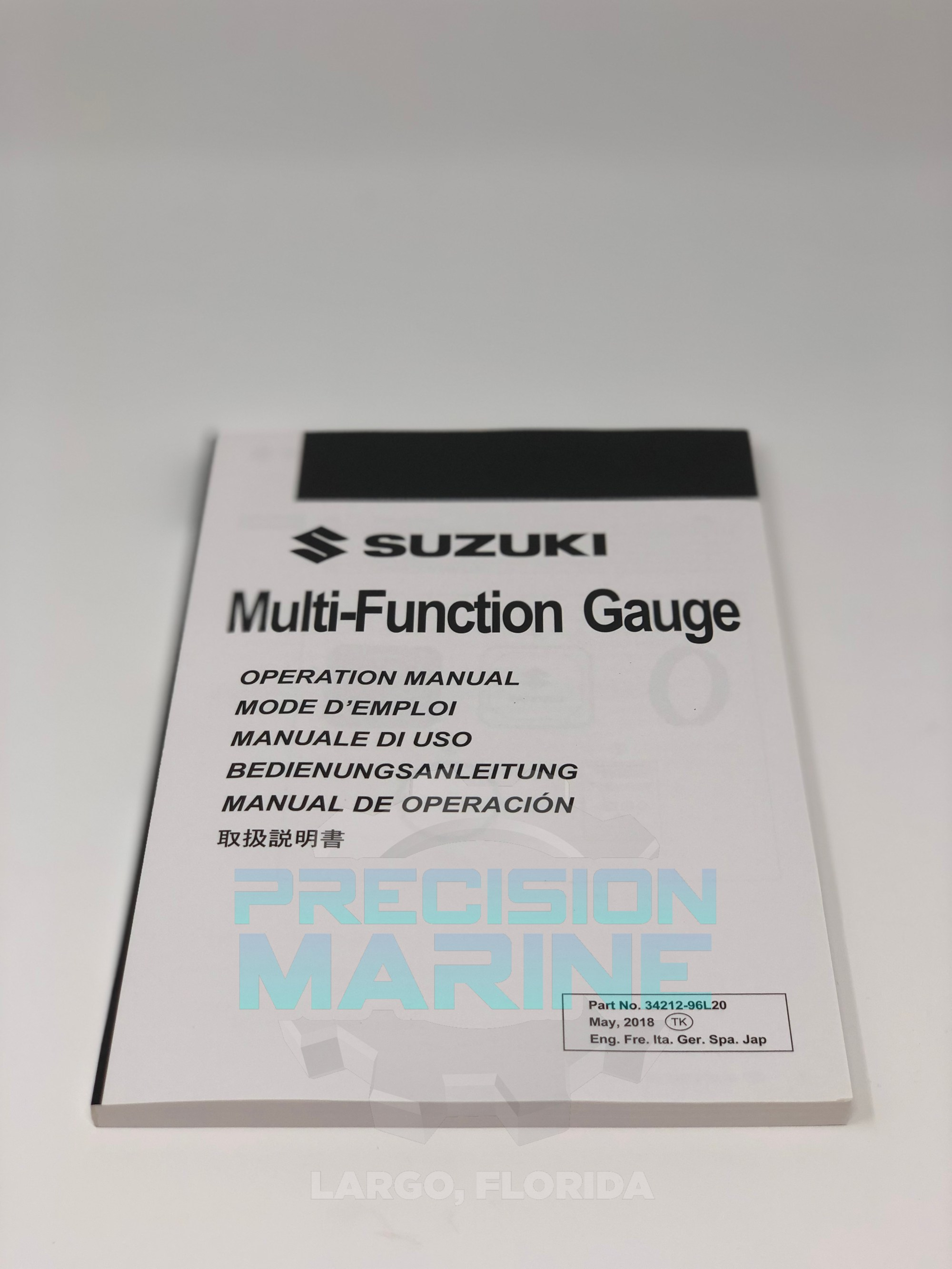 hight resolution of 34000 96l63 suzuki outboard multifunction smg4 gauge display