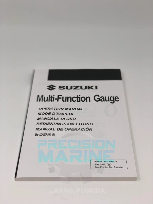 small resolution of 34000 96l63 suzuki outboard multifunction smg4 gauge display