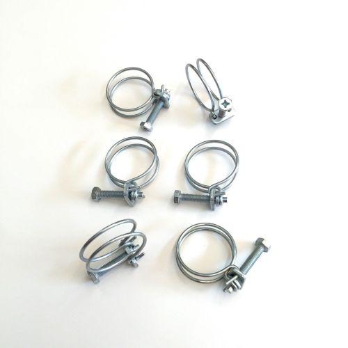 Qty-6-Coolant-Radiator-Hose-Clamps-1-12-Full-Set-Suzuki-Samurai-86-95-292441910914-3
