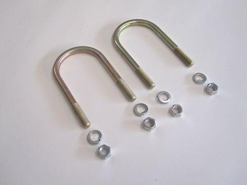 Qty-2-U-Bolts-w-Washers-Nuts-for-Leaf-Springs-OEM-Suzuki-Samurai-86-95-302609004036