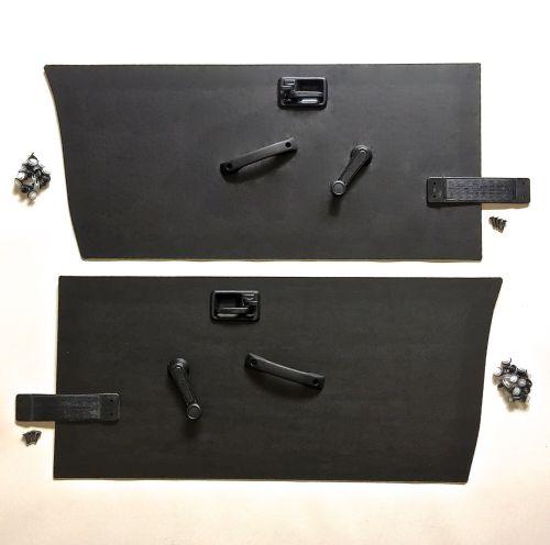 34pc-Complete-Door-Panel-Kit-BLACK-SJ410-SJ413-Suzuki-Samurai-86-93-302632033078