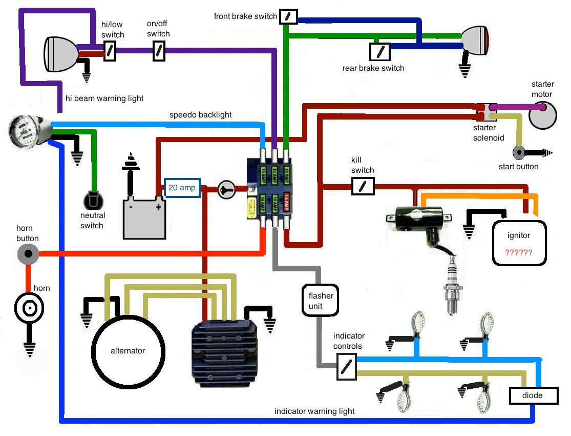 ausgezeichnet 1986 suzuki 650 wiring diagram ideen die besten rh capressocoffee info Suzuki Quadrunner Wiring-Diagram SPDT Switch Wiring Diagram