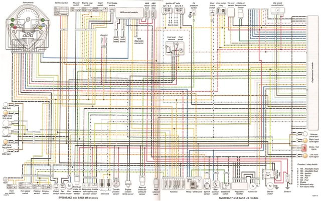 Wiring Diagram Suzuki Bandit 600 List Of Wiring Diagrams