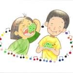 絵本「デミちゃんとマサちゃん」文芸社
