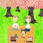 童話集「ヒロシマ桜の下で」parade books