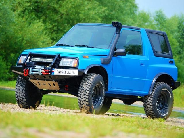 Suzuki Vitara – uniwersalna terenówka