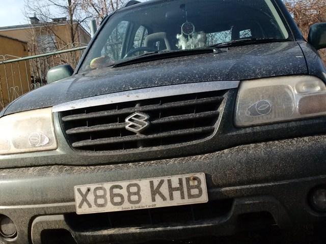 Żaba – Suzuki Grand Vitara diesel