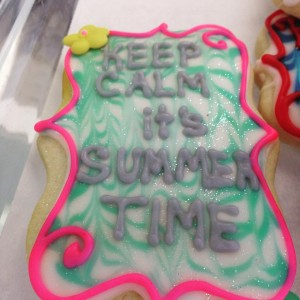 summertime cookies