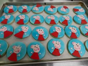 pepa pig cookie