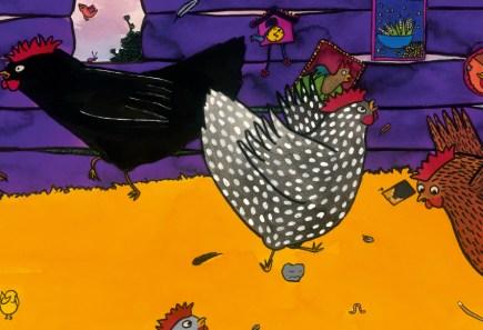 uit Tok de kip (Uitgeverij de Eenhoorn, 2011)