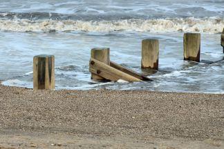 Summer seaside waves