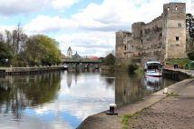 Newark Castle on the River Trent
