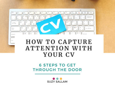 How to capture attention with your CV - BOOK _ Suzy Sallam