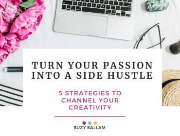 Turning your passion into a side hustle