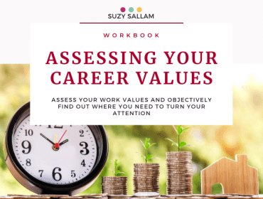 Assessing your work values workbook - Suzy Sallam Coaching