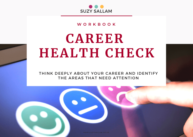 Workbook - Career Health Check - Suzy sallam coaching