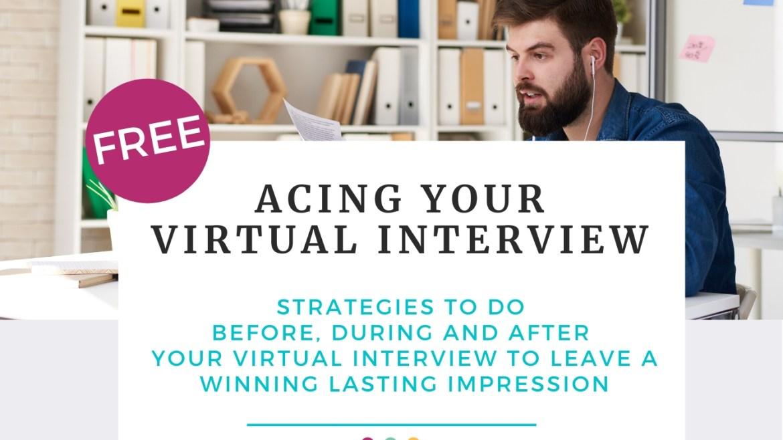 Acing your virtual interview book - suzy sallam coaching