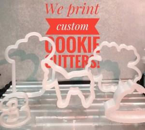 Custom cookie cutters