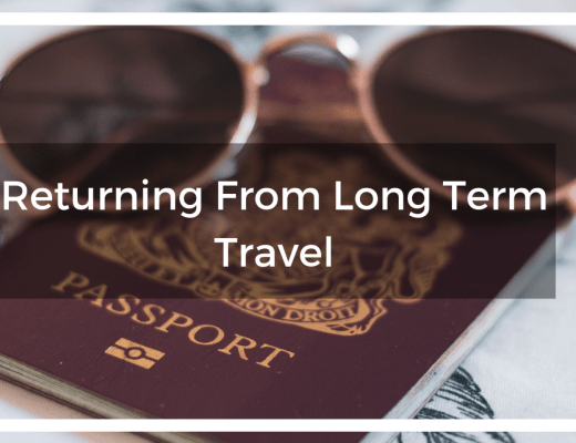 passport and sunglasses with title text overlay