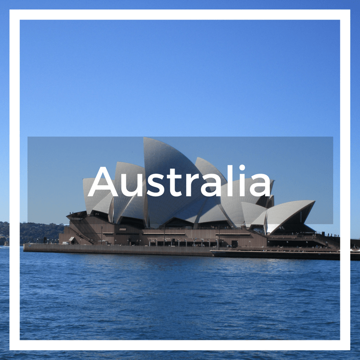 Text overlay of the Sydney Opera House