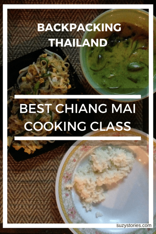 Text overlay of thai green curry in Chiang Mai