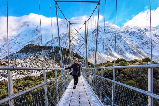 Hooker Valley Track New Zealand: Short Walks in Aoraki/Mount Cook National Park - Get the best views of Aoraki/Mount Cook