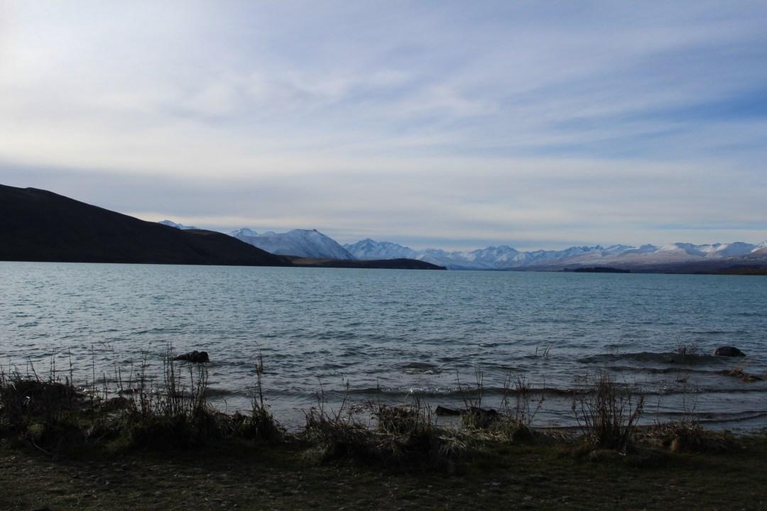 Lake Tekapo at sunset - things to do in Lake Tekapo, New Zealand road trip