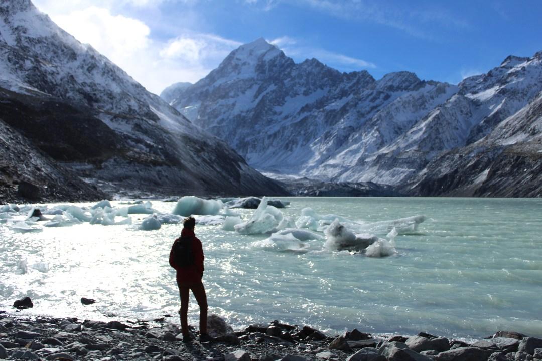 Hiking in New Zealand, Hooker Lake: Short Walks in Aoraki/Mount Cook National Park - Get the best views of Aoraki/Mount Cook