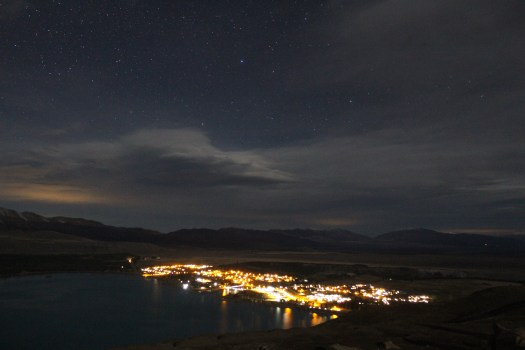 Tekapo from Mount John Observatory: Astrophotography and stargazing in Lake Tekapo, Earth & Sky night tour New Zealand