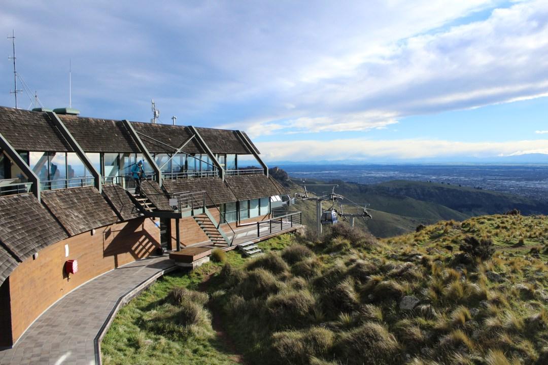 Coastal views from Christchurch Gondola, New Zealand