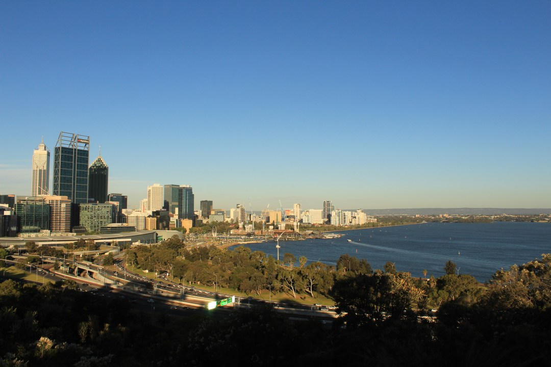 Best things to do in Perth - one day itinerary. King's Park views of Perth