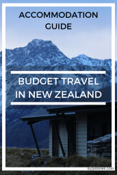 budget travel in nz pin