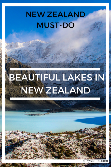 Beautiful Lakes to visit in New Zealand - New Zealand travel must-do activities to see nature and landscapes