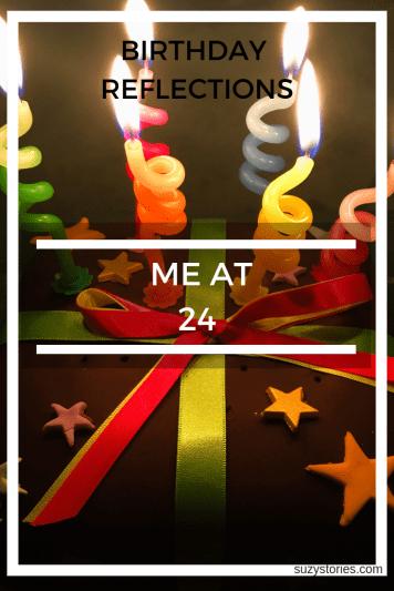 me at 24 cake pin