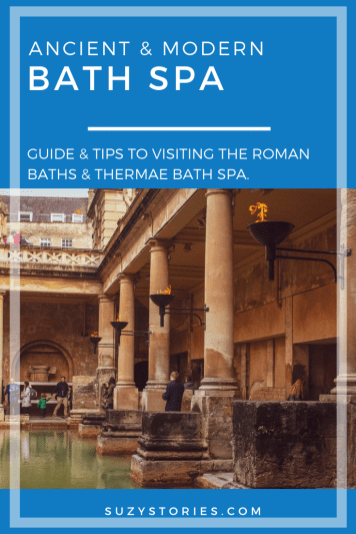 Beacons and bath of Roman Baths