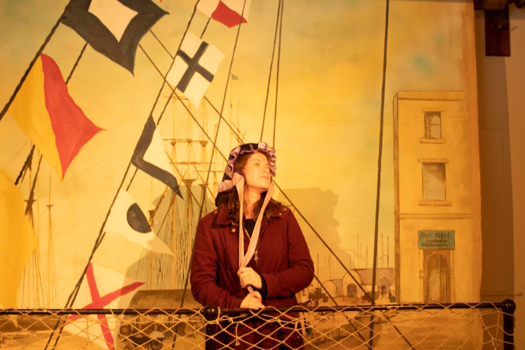 Visit Bristol In One Day Trip - Visit the SS Great Britain in Bristol's harbourside for an immersive taste of history, world exploration, and engineering! Taking old timey photos in the SS Great Britain museum.