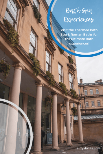Exterior of Thermae Bath Spa
