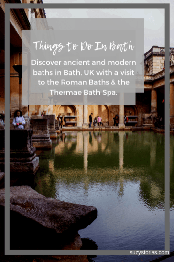 Roman baths and stone pillars