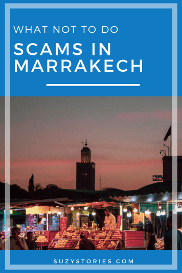 Want to avoid money-draining scams in Marrakech? Here are the main things to avoid on your visit to this bustling Moroccan city, and keep your cash safe!