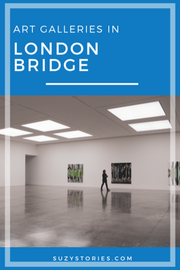 Looking for a way to spice up your cultural experiences in London? Take a look at these art galleries in London Bridge for a great alternative to the bigger galleries in one of the city's most popular areas, and a few cheap places to eat after!