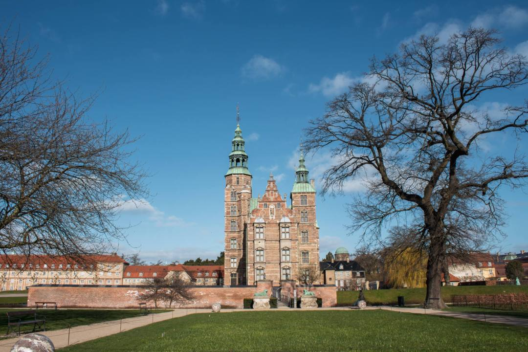 View of Rosenborg Castle from King's Garden